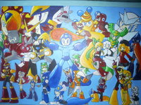 megaman hentai collage megaman kamira exe morelikethis fanart traditional drawings games