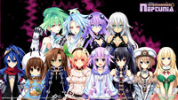 noir hentai hyperdimension neptunia saint xtreme game featuring noirblack heart