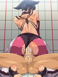 street fighter hentai media original juri han street fighter hentai brunette cowgirl rock dan hibiki