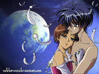 vision of escaflowne hentai white dragon feathers neldorwen art van fanel winged escaflowne