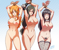long hair hentai nopeavi nami long hair hentai all breasts navel one piece orange sleeping