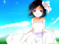 open mouth hentai blue eyes dress loli nin kdyune open mouth short hair sky tagme tenderness kayune niu page