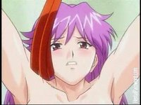 pink hair hentai videos video pink haired hentai lesbian getting tied tortured stud zntmit tjd