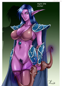 pubic hair hentai media night elf porn
