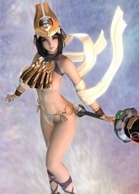 3d custom girl hentai hentai breasts queens blade menace dcg