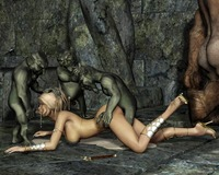 3d elves hentai art elf orc