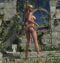 3d elves hentai hot elf slut nude fantasy getting raped neytiri