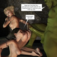 3d hentai sexy photo green orc monster fuck cute hentai elf girls