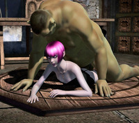 3d toon hentai dmonstersex scj galleries ogre hentai toon dirty pink haired elf