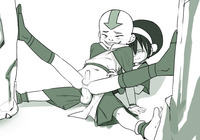 aang and toph hentai game caaf add dfb aang anonanim avatar last airbender toph bei fong beifong hentai