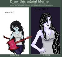 adventure time marceline hentai pre marceline before after meme mozerella morelikethis manga digital drawings