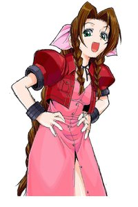 aerith gainsborough hentai aerith gainsborough fangs final fantasy highres maria sama miteru