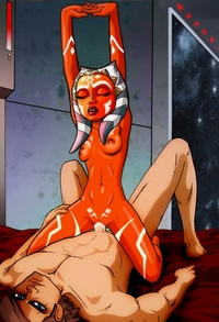 ahsoka star wars hentai media original ahsoka tano anakin skywalker clone wars star togruta