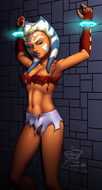 ahsoka tano porn hentai media original rule ahsoka tano areola blue eyes jugs clone wars erect bulbs