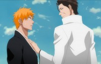aizen hentai bleach aizen ichigo too close