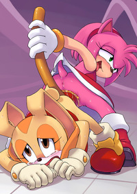 amy and sonic hentai amy rose cream rabbit sega sonic team hentai