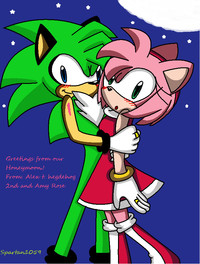 amy rose e hentai alex hegdehog amy rose married spartan qbstg art