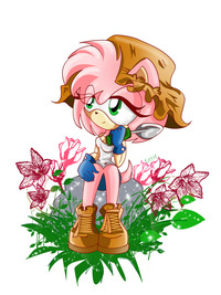 amy rose hentai gif rose garden prittyred art amy sweet