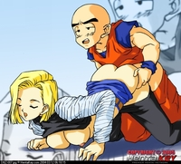 android 17 hentai cdbf android dragon ball krillin hentaikey