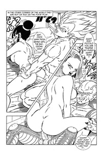 android 18 and goku hentai android chichi dragon ball krillin mai piccolo son goku vegeta comic emperor pilaf entry