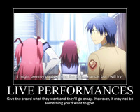 angel beats hentai spire fbd forumtopic anime motivational posters read
