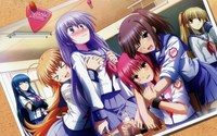 angel beats hentai data wallpaper angelbeats angel beats
