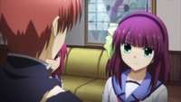 angel beats hentai angel beats large freezeframe remember when pantsu were considered ero