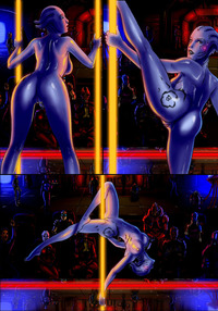 asari hentai asari stripper mass effect hentai media
