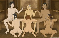 avatar aang hentai comics matter how many friends aang will bring him everyone get blowjob porn