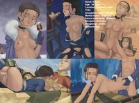 avatar e hentai galleries aang avatar last airbender awesomeartist haru katara sokka drawn stuff gets them all kinds