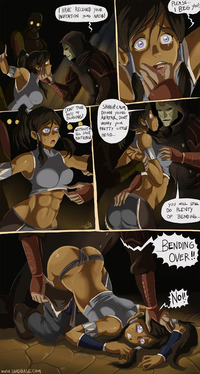 avatar hentai comic page korra comics done shadbase