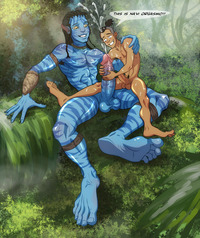 avatar hentai navi crossover avatar last airbender featured sokka james cameron anma jake sully