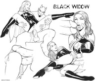 avengers black widow hentai avengers black widow claire voyant marvel satan twelve extro