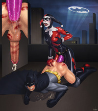 batman harlequin hentai lusciousnet harley quinn batman ark superheroes pictures album porn one crazy bitch arkham