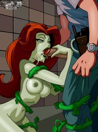 batman poison ivy hentai lusciousnet poison ivy blows guar superheroes pictures album green pink pussy guard