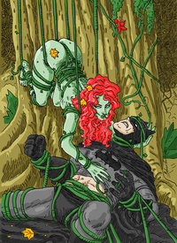 batman poison ivy hentai batman poison ivy color bernardohq xhw art stroll commish