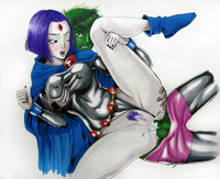 beast boy hentai lusciousnet raven anal bea pictures album sorcerous slut animated sorted page