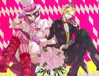beelzebub anime hentai wallpaper blondes purple hair anime beelzebub boys chu pechika chan sankakucomplex show manga