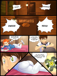ben 10 ge hentai ben tennyson fourarms gwen jlullaby comic