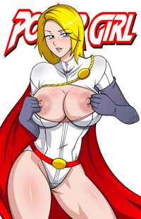 big hentai tits gallery lusciousnet power girl gallery superheroes pictures album