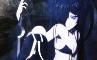 black rock shooter hentai konachan black rock shooter kuroi mato polychromatic anime impressions
