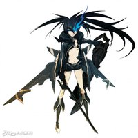 black rock shooter hentai juegos black rock shooter game fotos set journal
