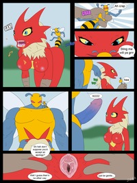 blaziken hentai comic aza pictures user blaziken gets stung part
