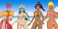 bleach halibel hentai pre bleach nel yoruichi halibel bikini group greengiant qgubd morelikethis artists