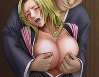bleach ururu hentai painful pleasure bleach hentai rangiku matsumoto blonde moan wet hentairing