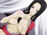 boa hancock hentai doujin boa hancock enjoying cum one piece hentai