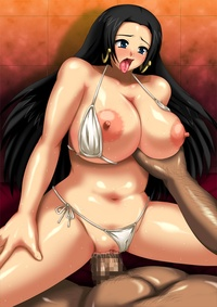 boa hancock hentai pictures blush boa hancock breasts censored dark skinned male large one piece penis pussy hentai cartoon