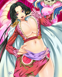 boa hancock hentai wallpaper gallery one piece scans animewapers boa hancock cleavage kaguyuzu bra hentai code geass gundam shakugan shana otros