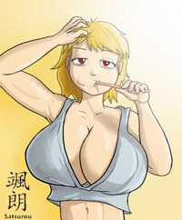 breast expansion hentai comics bad morning boobies now fanart satsurou breast expansion page