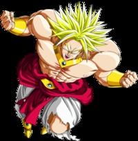 broly hentai render dragon ball broly ssj foro